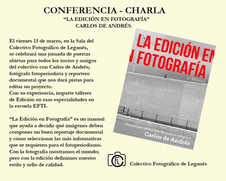 La Edición en fotografía - Carlos de Andrés